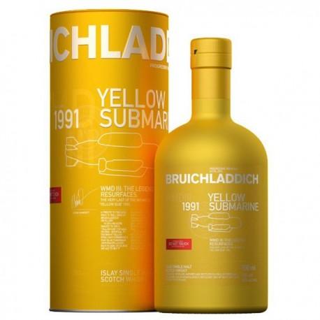 Bruichladdich Yellow Submarine 25 Year Old 1991 WMDIII